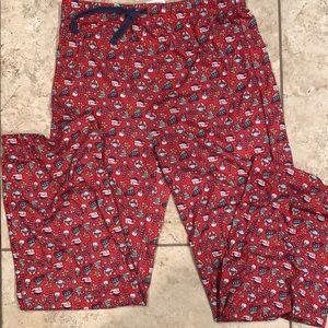 Vineyard Vines kid's Christmas lounge pants